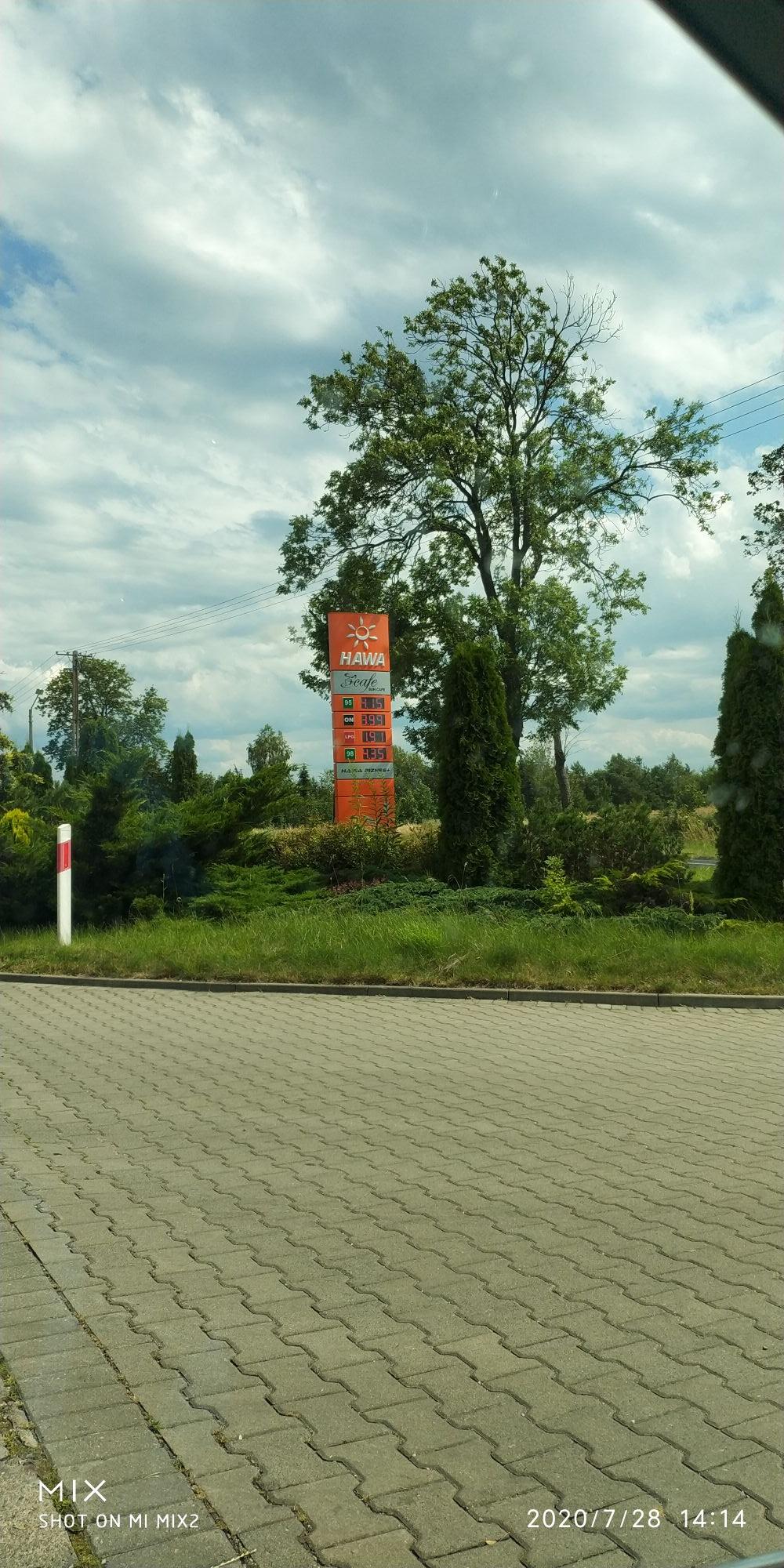 Diesel ON za 3.99 - HAWA Szydłowo