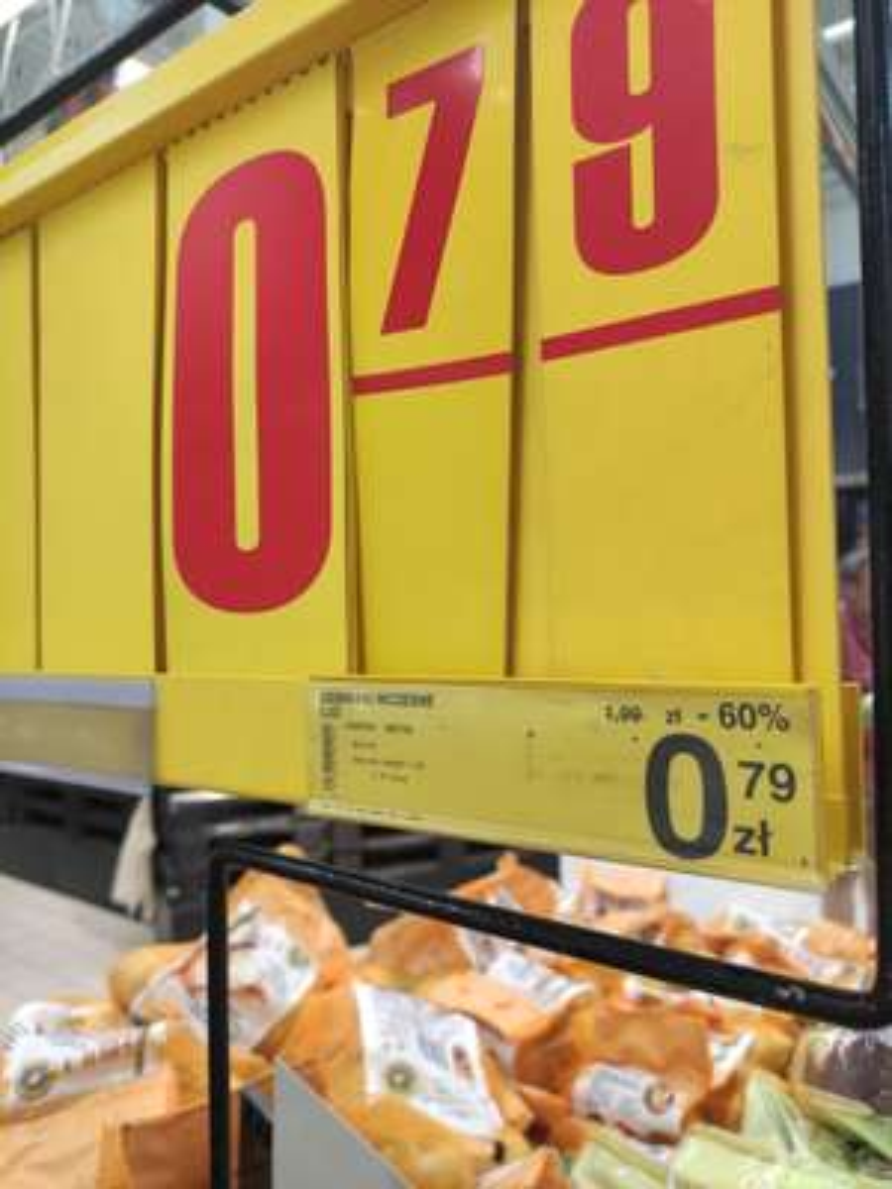 Ziemniaki wczesne polskie 0.79zł/kg - Carrefour Nowy Sącz/Kędzierzyn Koźle