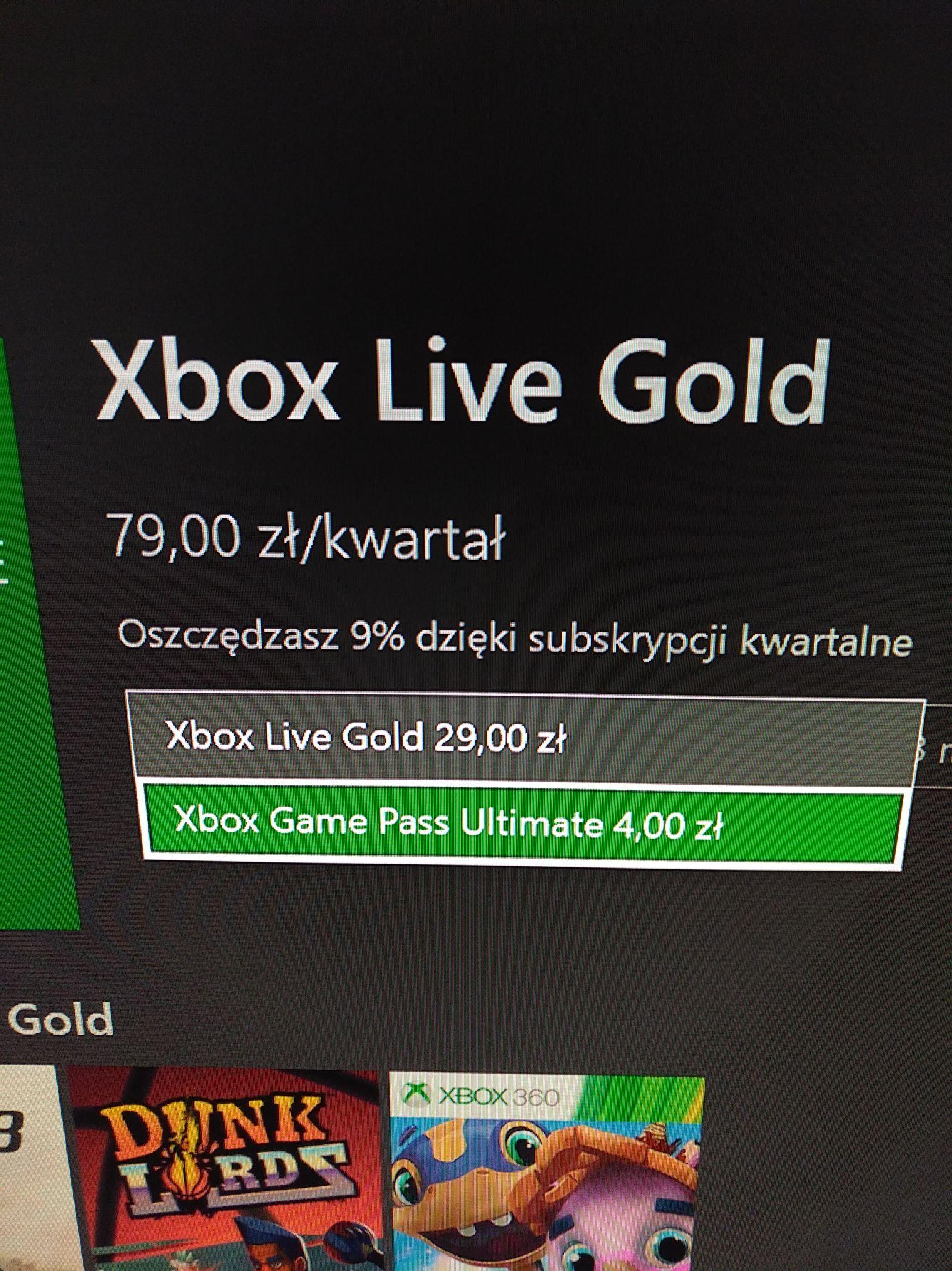 Ultimate Game Pass Xbox One za 4 zł dla posiadaczy subskrypcji