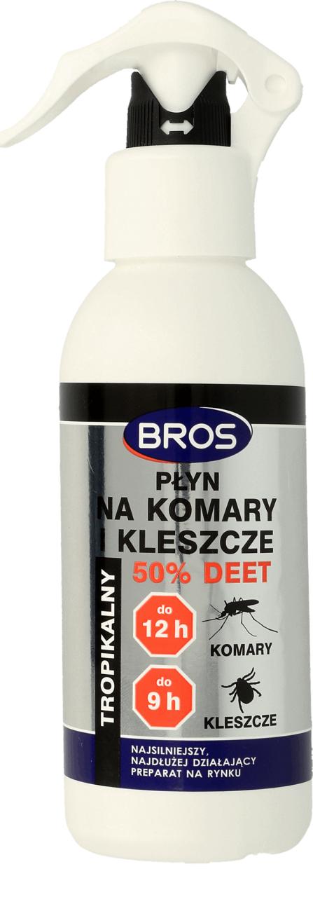 Bros Tropikalny 50% DEET 130ml > MUGGA