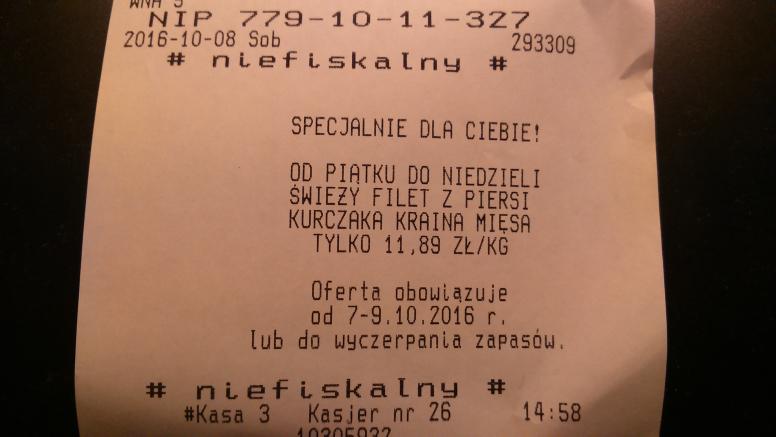 Filet z piersi kurczaka Kraina Mięsa kg @Biedronka
