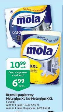 Mola Giga XL lub Mola Giga XXL Ręcznik papierowy @Auchan @Wymagana aplikacja