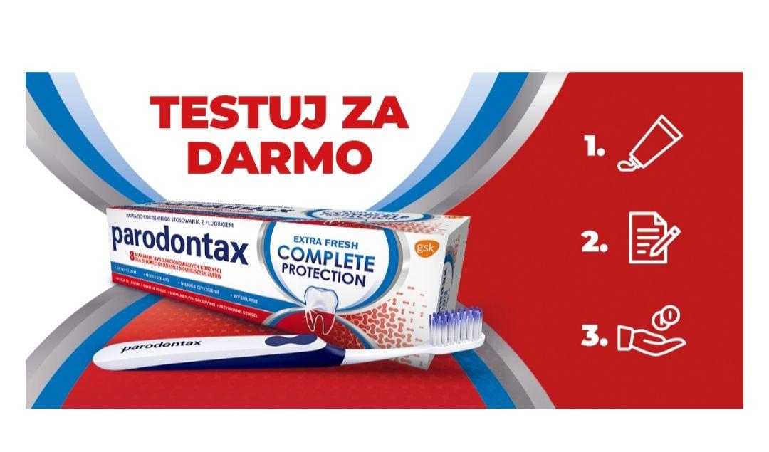 Testuj za darmo produkty Parodontax Smolar