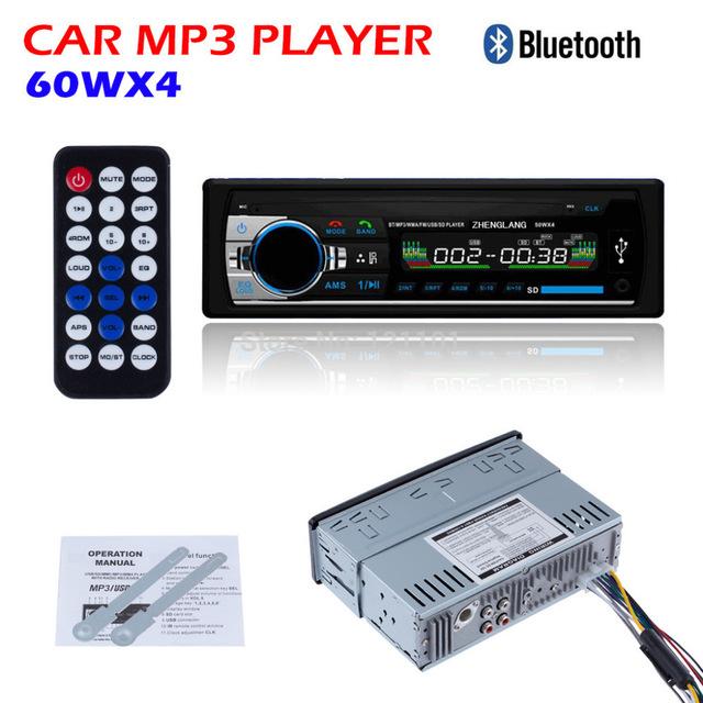 Radio FM samochodowe BT USB Karta MMC