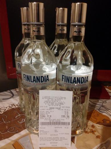 Wódka Finlandia 1l za 49,99zł w Carrefour