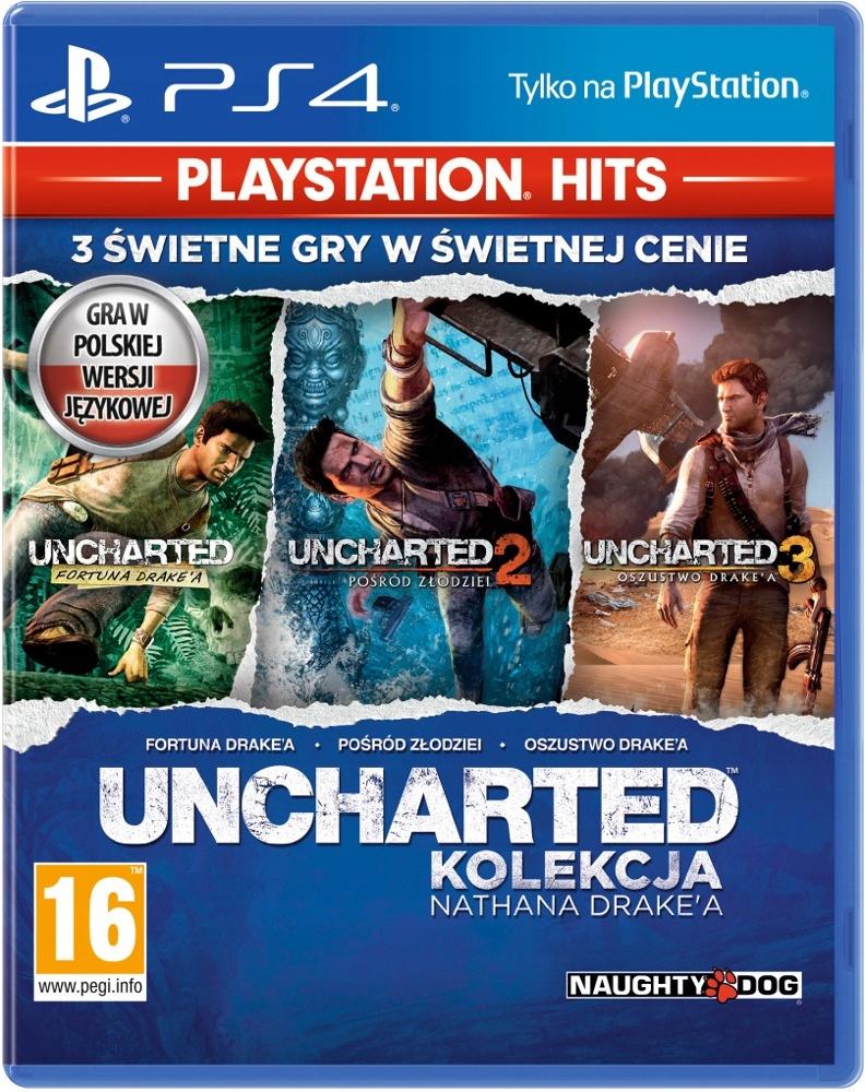 PS4 HITS Uncharted: Kolekcja Nathana Drakea
