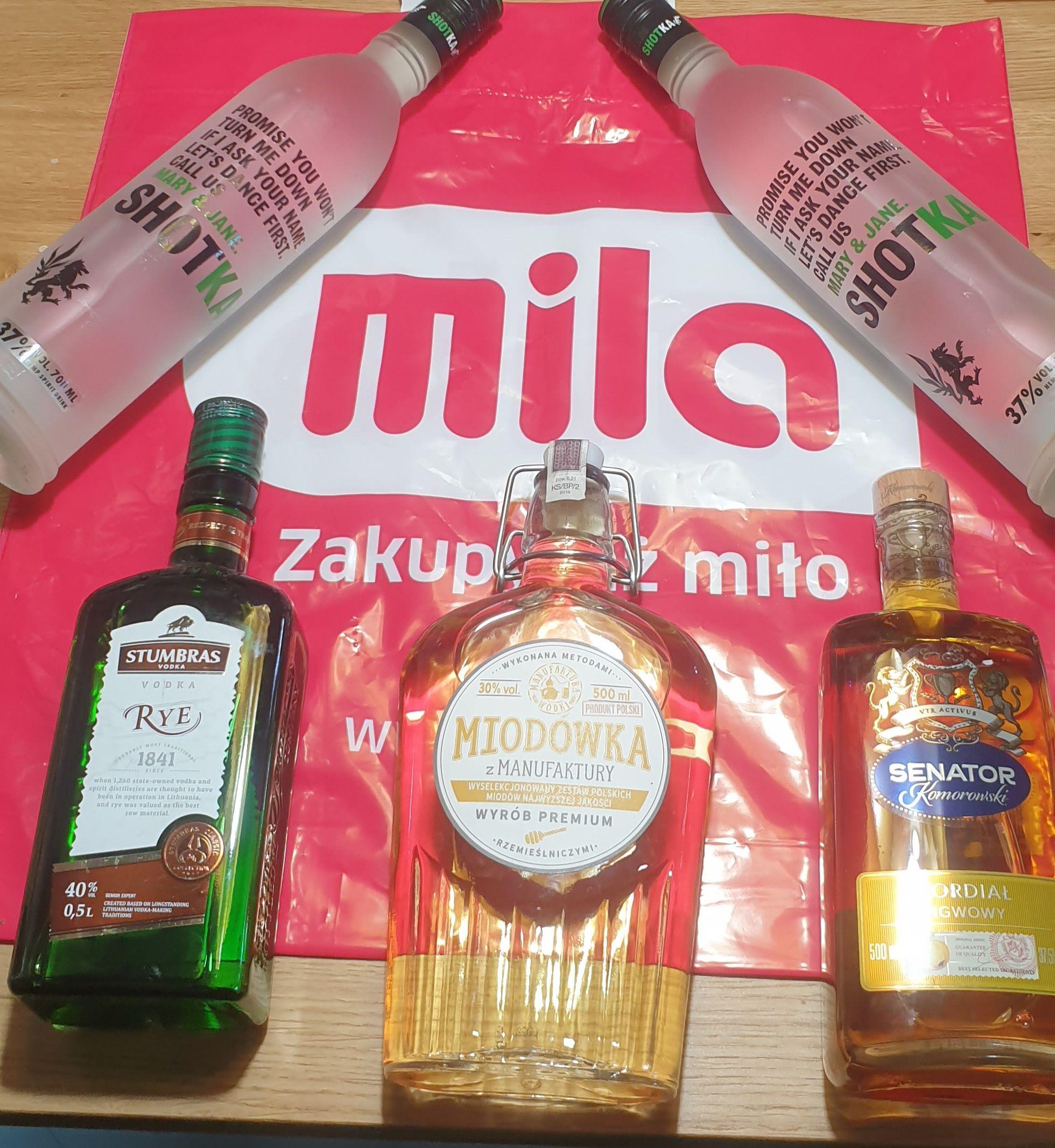 Wódka - Likier - Alkohol - Sklep Mila - Perełki