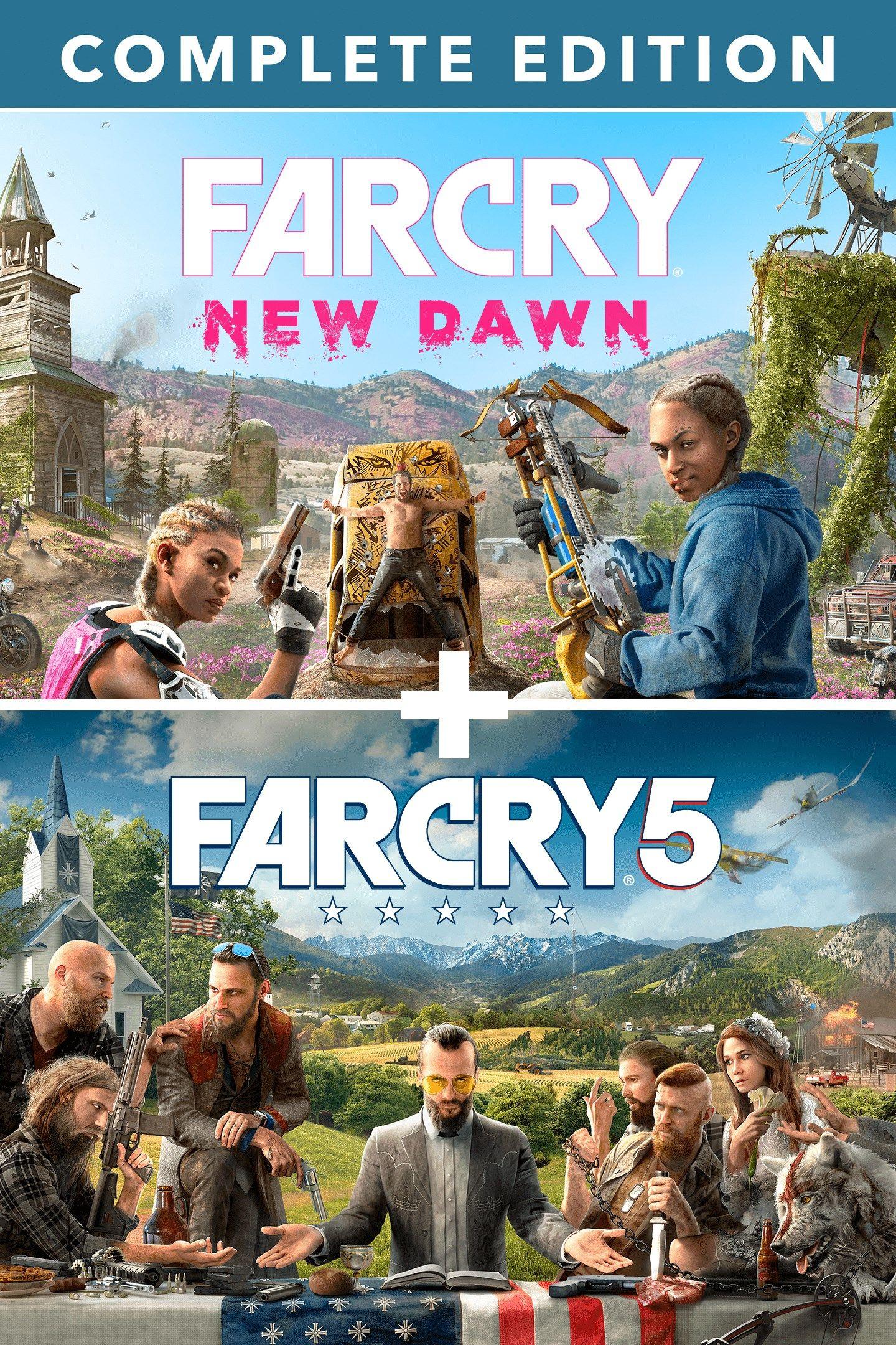 Far Cry 5 + Far Cry New Dawn Deluxe Edition Bundle (Xbox One) VPN