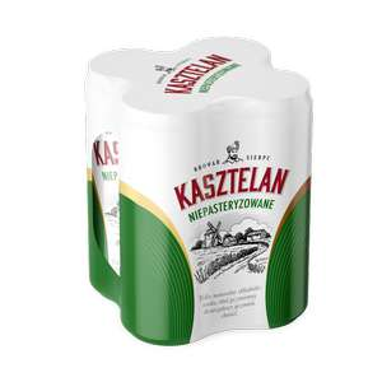 Czteropak piwa Kasztelan 4x 0,5l za 7.33 zł. Stokrotka- ogólnopolska