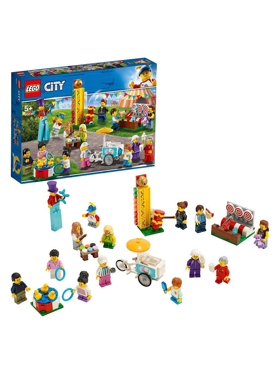 LEGO City 60234 Wesołe miasteczko zestaw minifigurek - możliwe 77,22