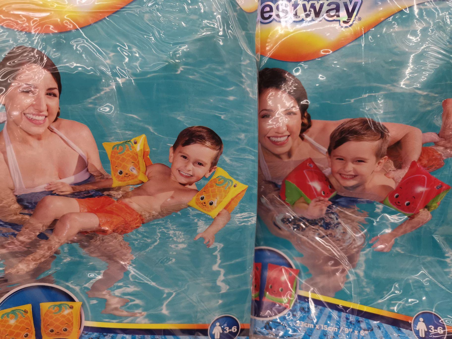 Rękawki do pływania BestWay, koło do pływania INTEX, materace INTEX BestWay, Kamizelka BestWay w Auchan Warszawa/Marki Centrum Handlowe M1