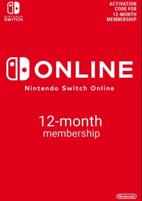 Nintendo Switch Online 12 Month (365 Day) Membership Switch @CDkeys