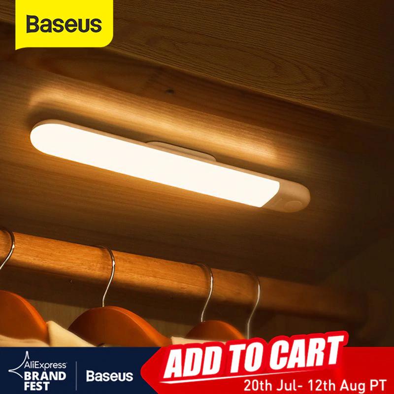 Baseus lampa led - czujnik ruchu i zmierzchu