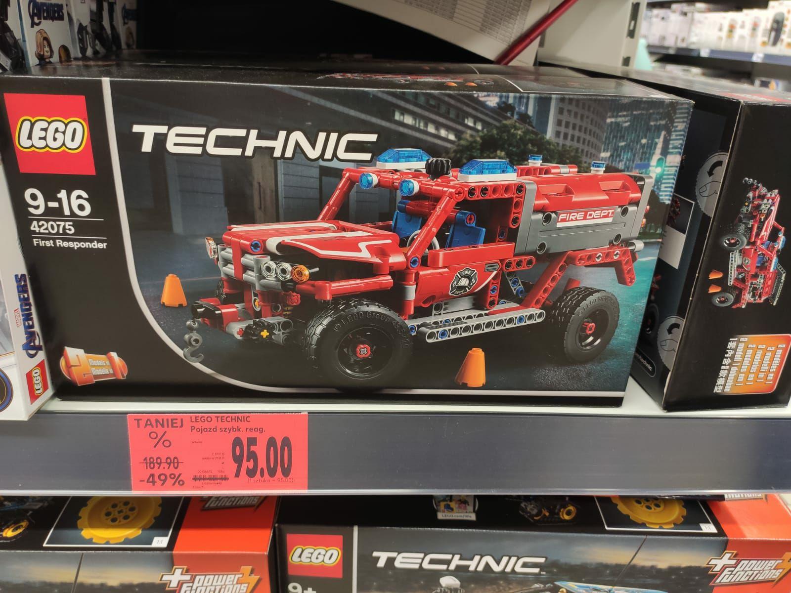 LEGO Technic 42075 Kaufland Wrocław