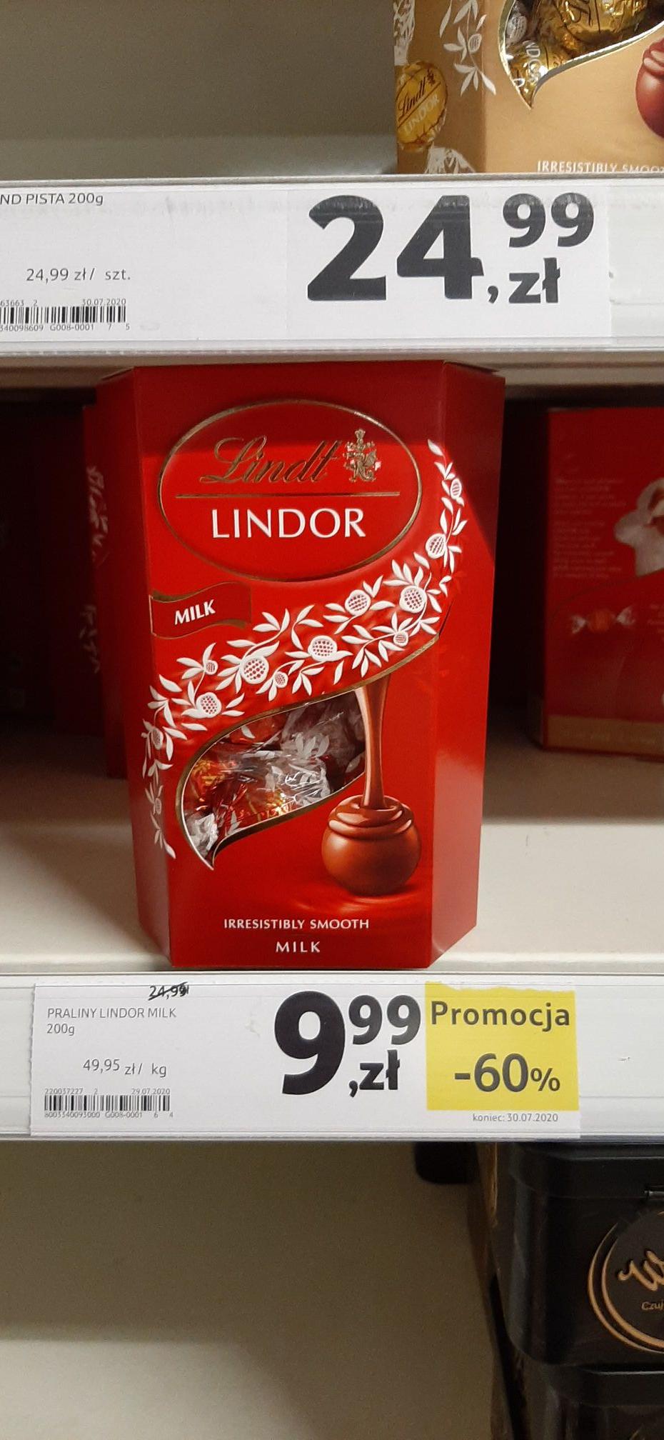Praliny Lindor Milk 200g @ Trzebnica