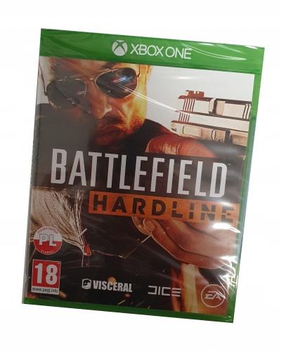 Battlefield Hardline (XBOX ONE) PO POLSKU