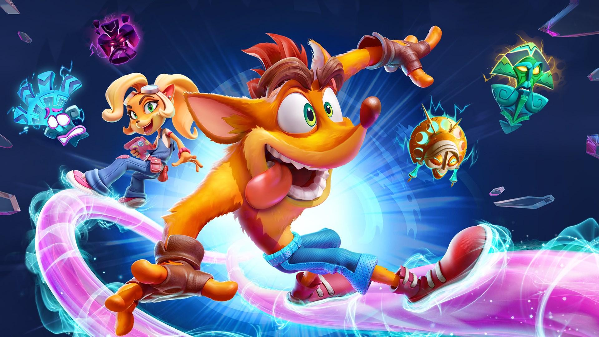Crash Bandicoot 4: It's About Time (Brazylijski PSN)