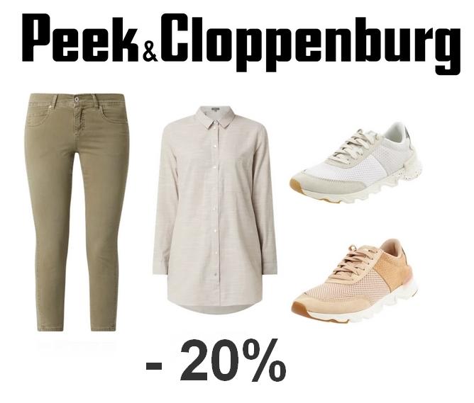 Nocna zniżka 20% na wyprzedaż w @Peek&Cloppenburg - przykłady