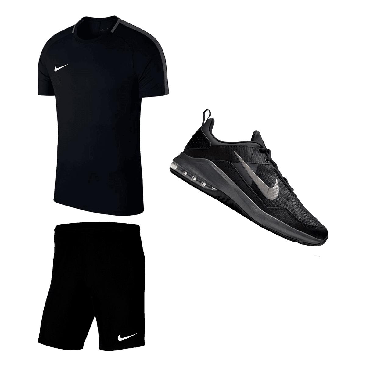 Zestaw treningowy Nike - koszulka Academy 18 SS, spodenki Park III oraz buty Air Max Alpha Trainer II @geomix