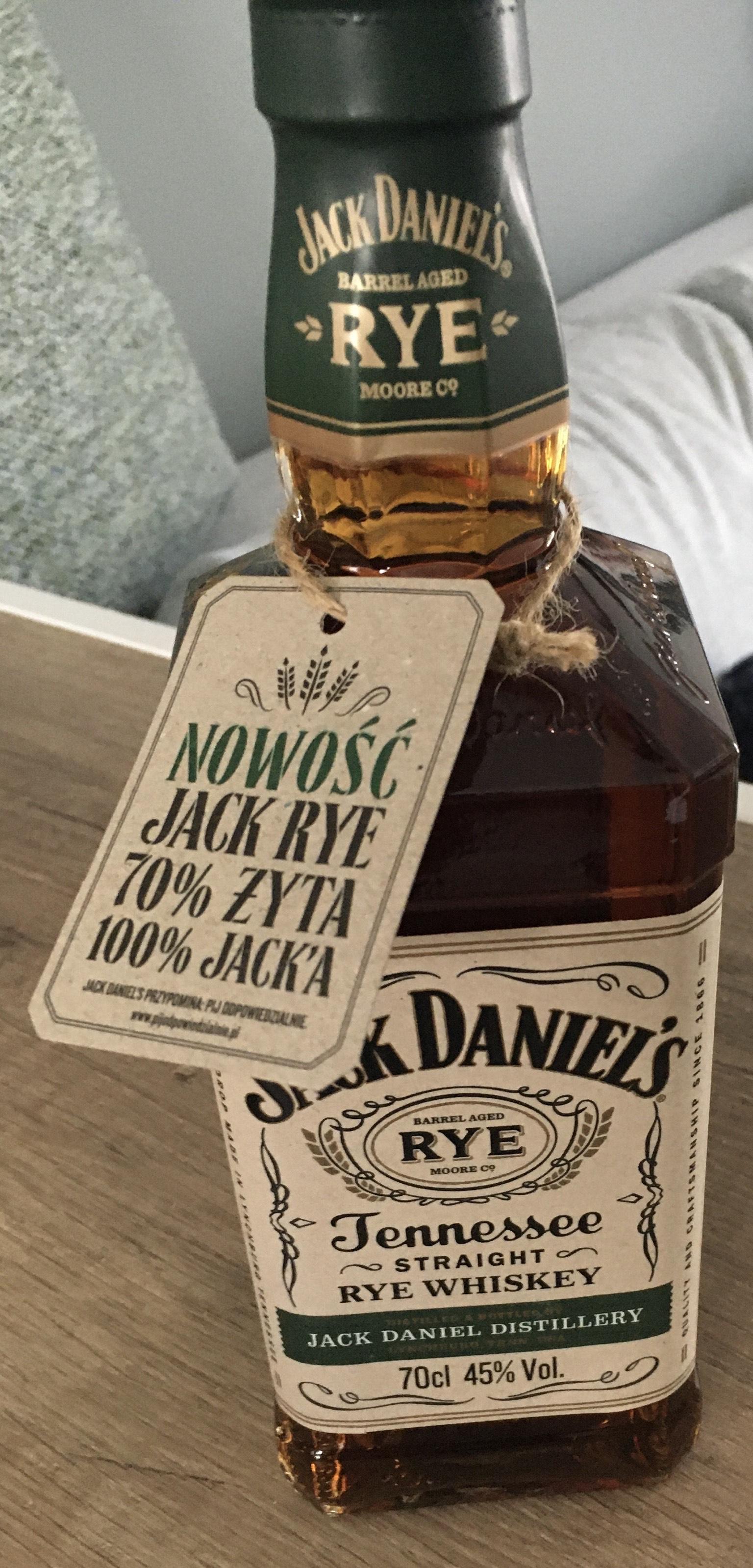 Jack Daniels Straight Rye Whiskey @ Carrefour