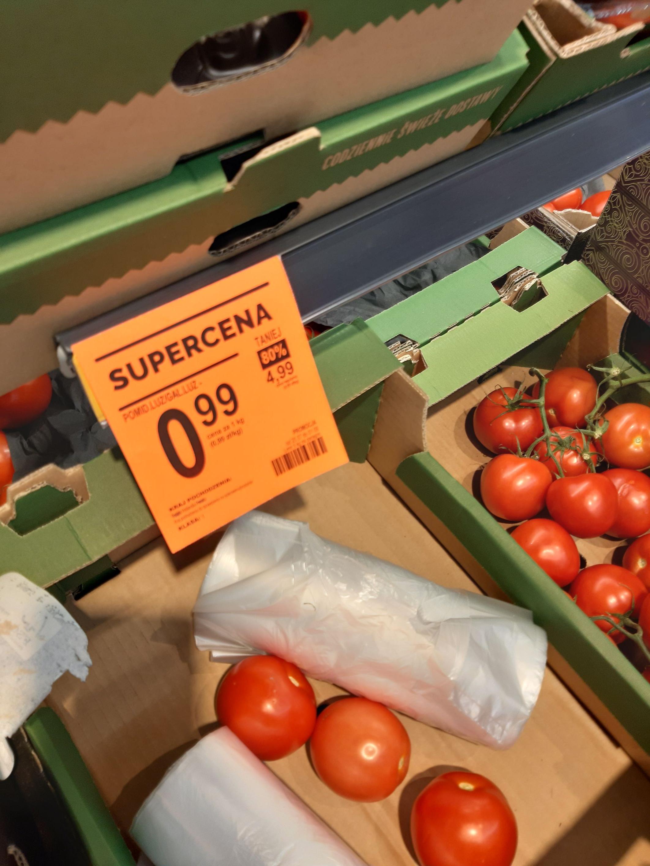 Pomidory @ Biedronka (Wieliczka)