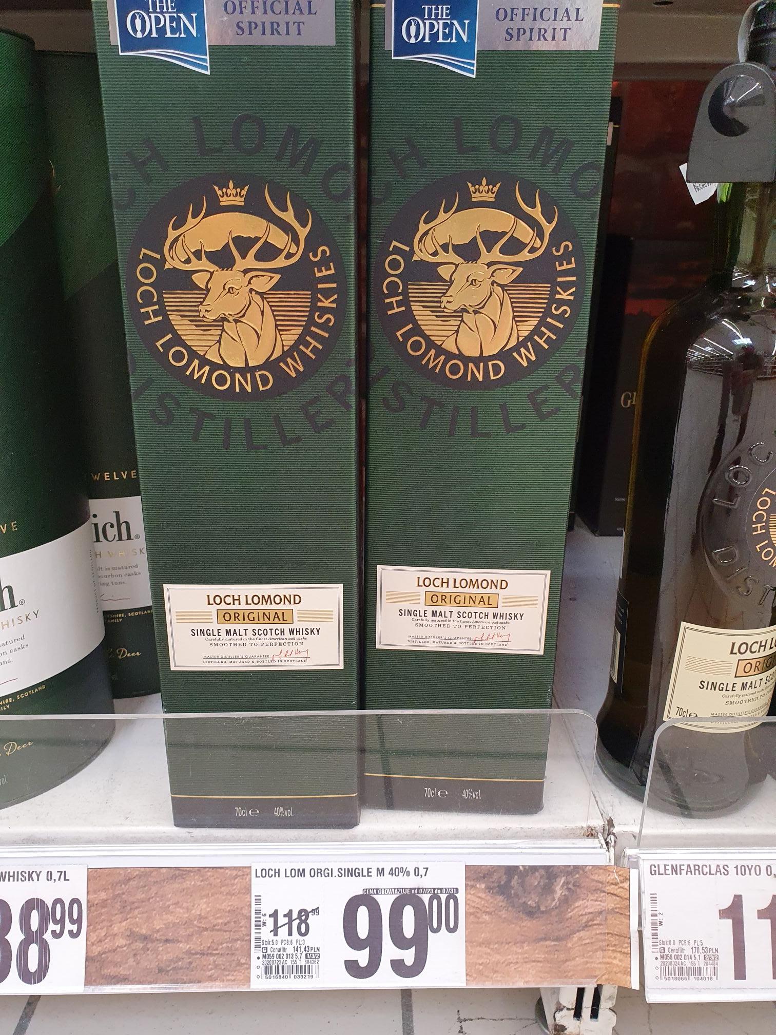 Whisky Loch Lomond Original 0,7 - Auchan Warszawa Ursynów