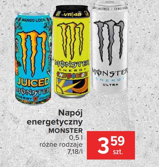 Monster Energy za 3.59zł - Carrefour