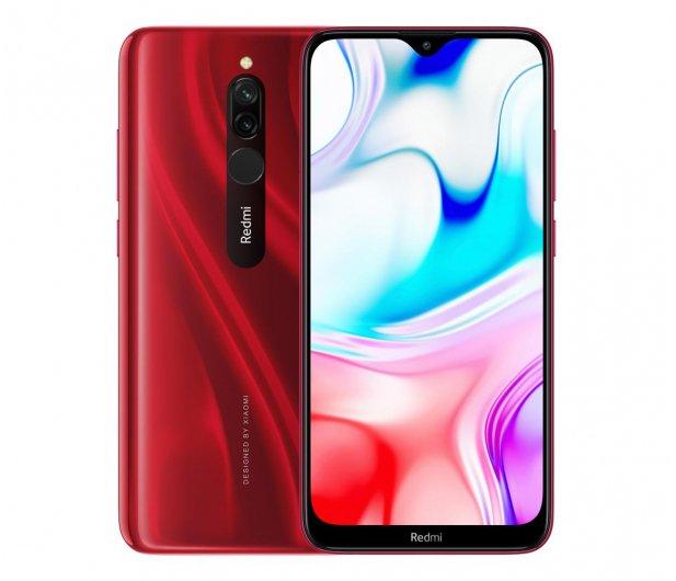 Smartfon Xiaomi Redmi 8 4/64GB Ruby Red @x-kom