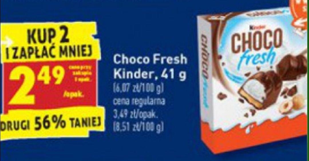 Biedronka Kinder Choco Fresh przy zakupie 2szt.