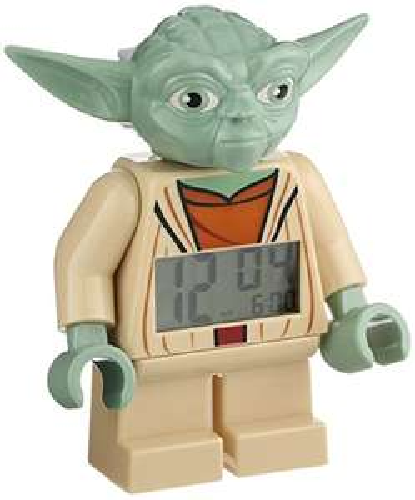 LEGO - budzik, zegarek (Yoda,Darth Vader, Batman i inne) @ Amazon.uk
