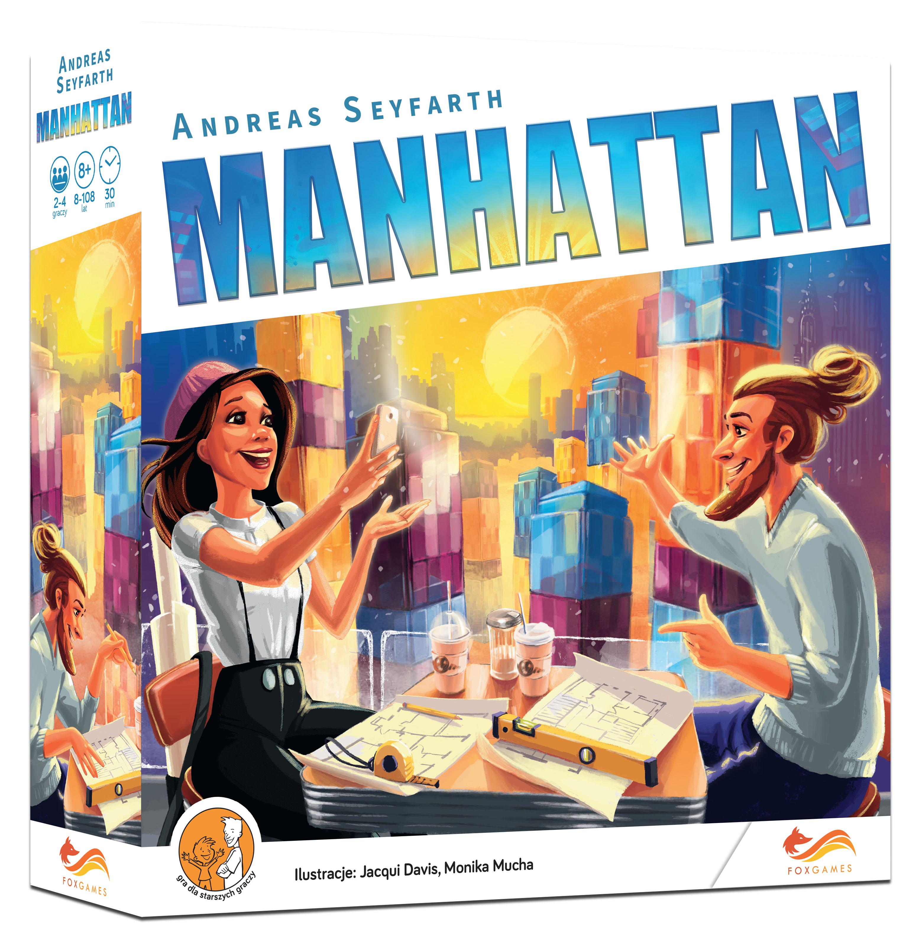 Manhattan - gra planszowa