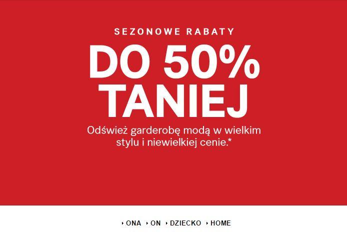 [Wyprzedaż] do 70% taniej @ H&M