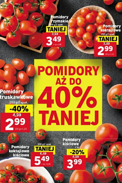 Pomidory aż do 40% taniej @Lidl
