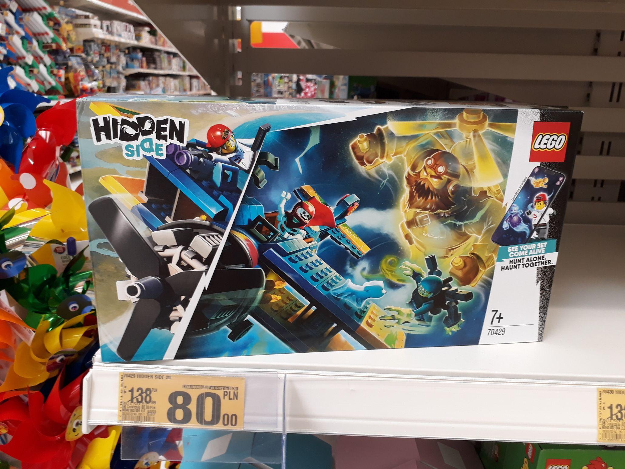 Lego w Auchan Wola Park