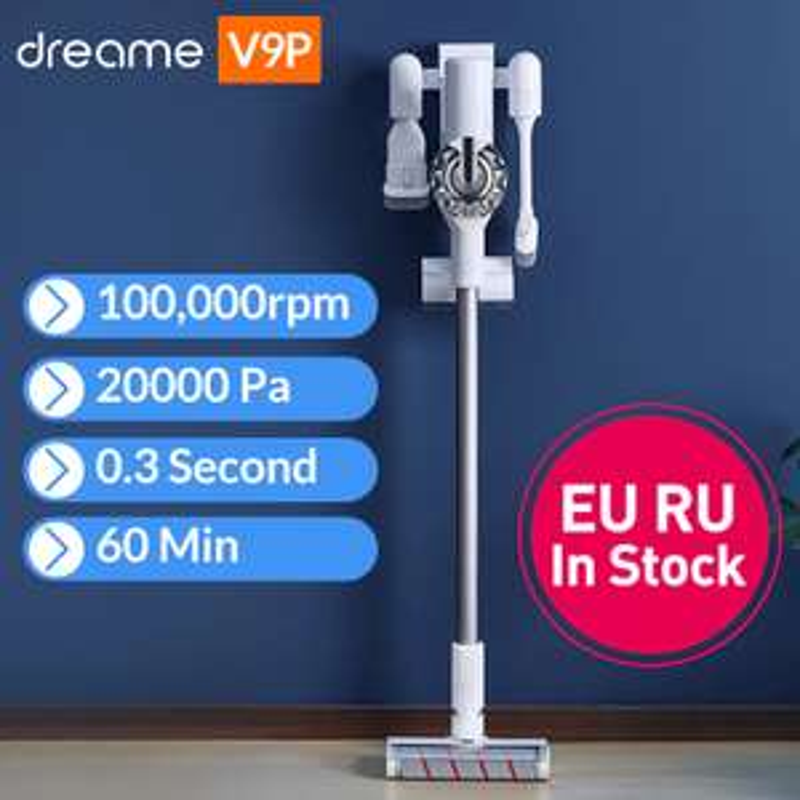 Dreame V9P bezprzewodowy odkurzacz Xiaomi Youpin $152 wysyłka z Polski