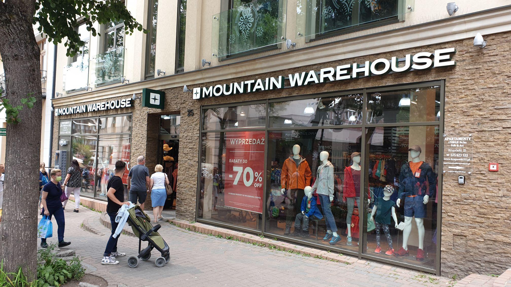 Wodoodporne buty męskie Adventurer - Mountain Warehouse, Krupówki 25, Zakopane