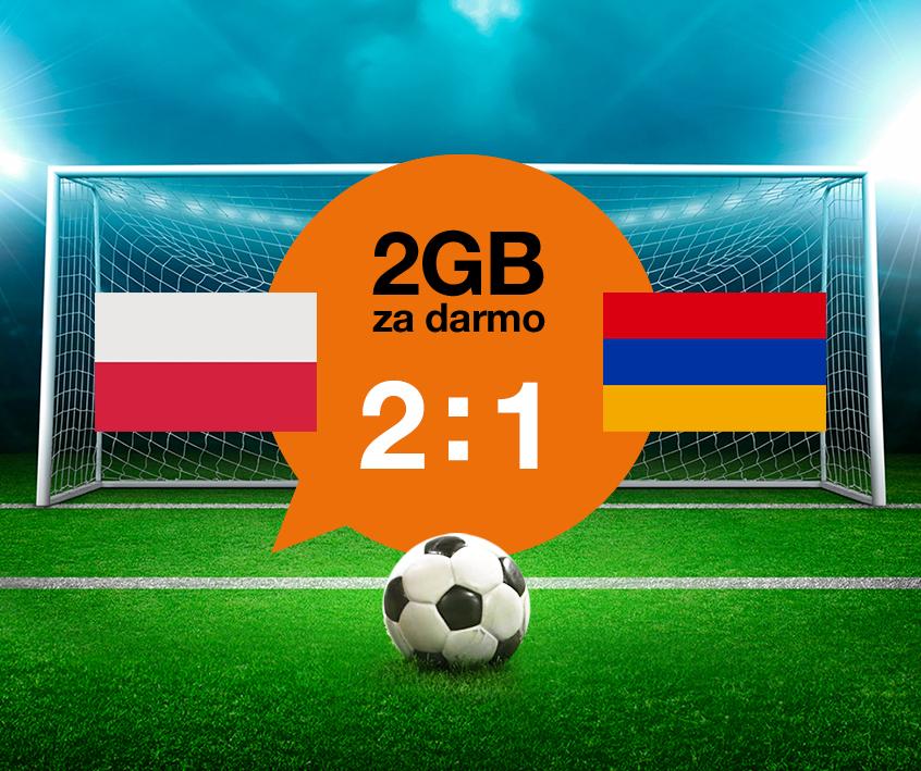 Pakiet internetowy 2GB na 5 dni za darmo! @ Orange