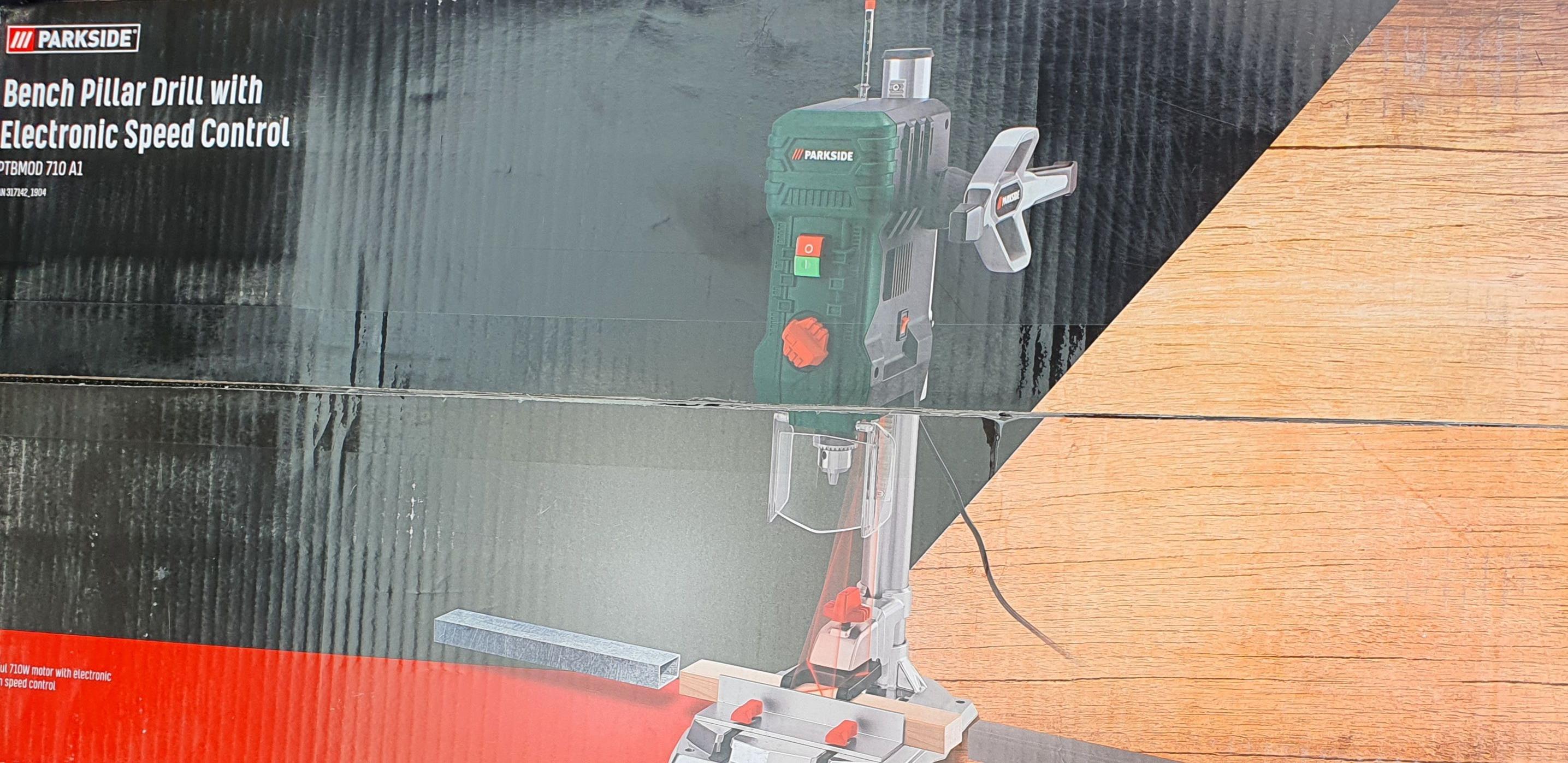 Wiertarka stołowa Parkside 710W PTBMOD 710 A1 Lidl Pruszków