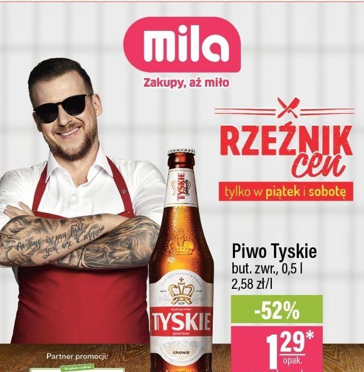 Piwo Tyskie 0.5l butelka zwrotna - Mila