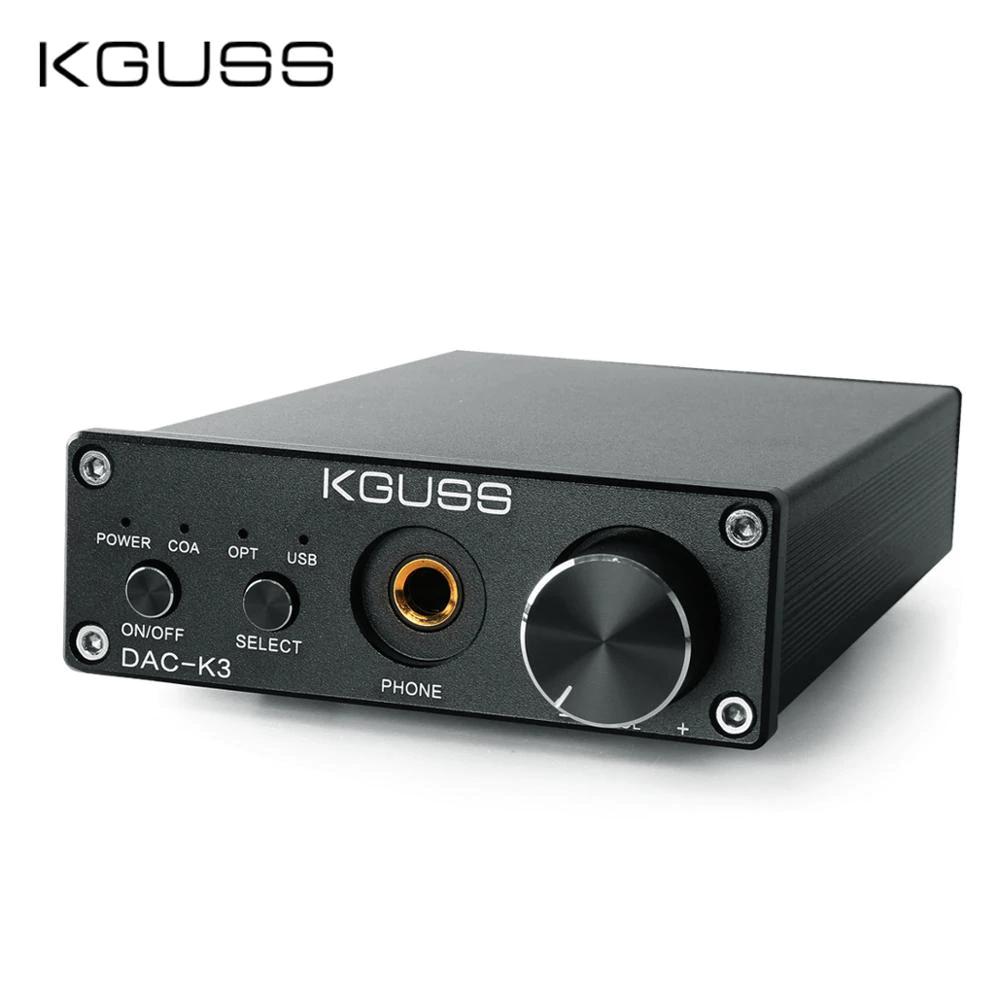DAC KGUSS DAC-K3 Wzmacniacz słuchawkowy USB / OPT / COA