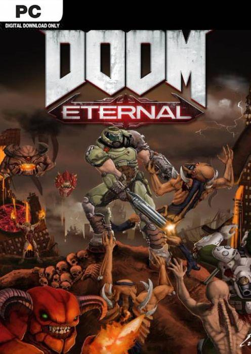 Gra Doom Etarnal na PC - Bethesda Launcher.
