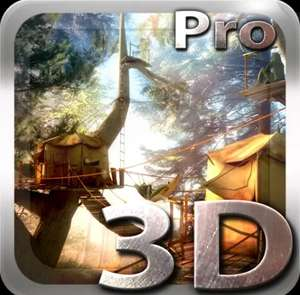 Tree Village 3D Pro lwp / ANDROID