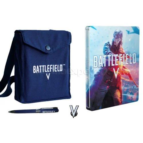 Zestaw akcesoriów Battlefield V + Steelbook (bez gry), stacjonarnie