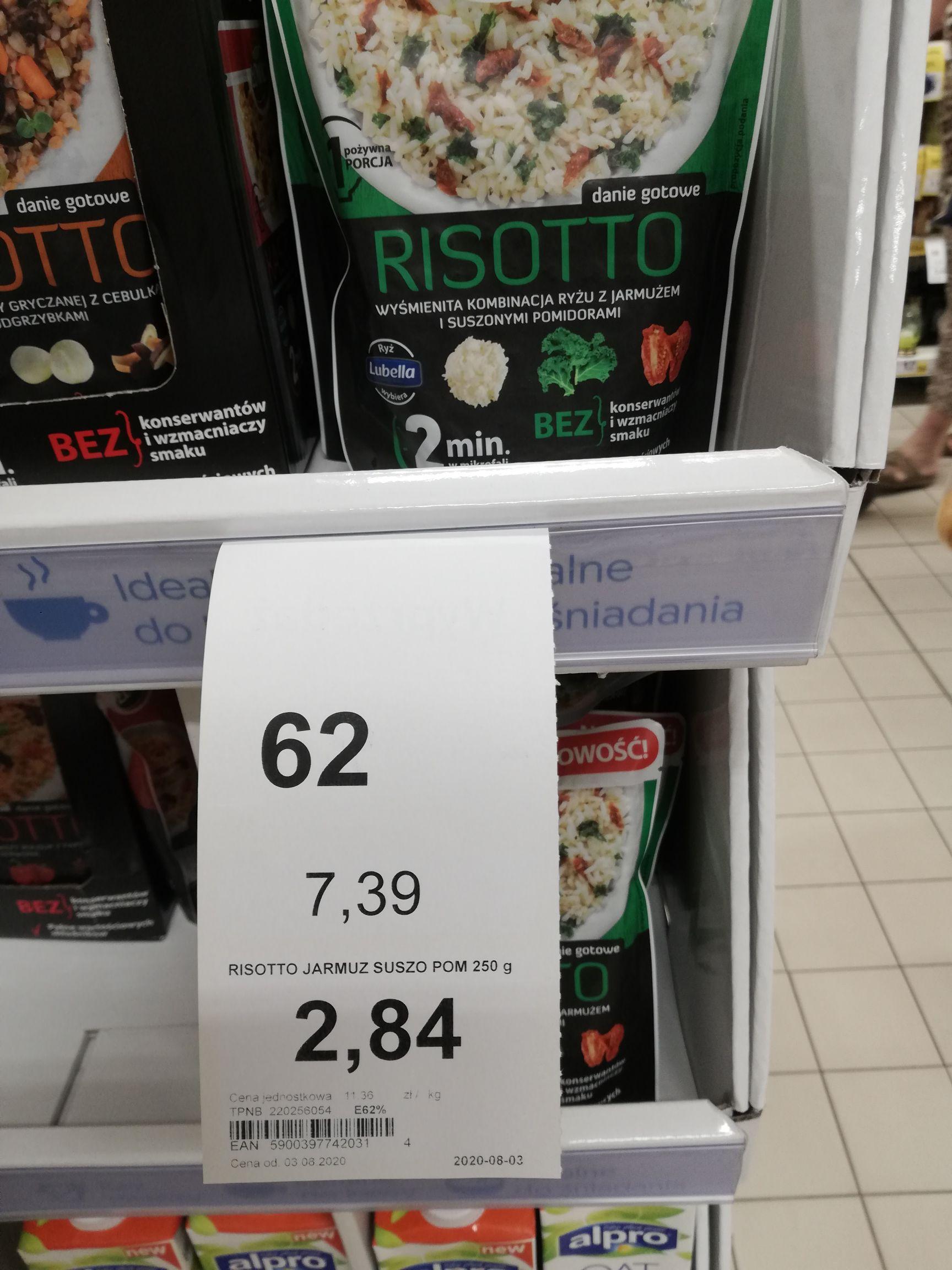 Tesco Kaszotto Łowicz lub Risotto Łowicz Mega cena