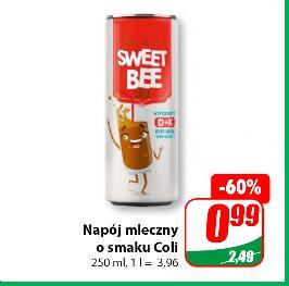 Napój mleczny o smaku Coli 250 ml @Dino