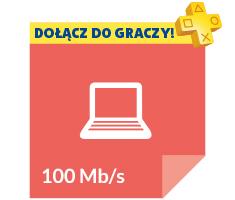oferta dla graczy: 70zł miesięcznie za internet 100mb/s + gratis Playstation Plus ! @ Vectra
