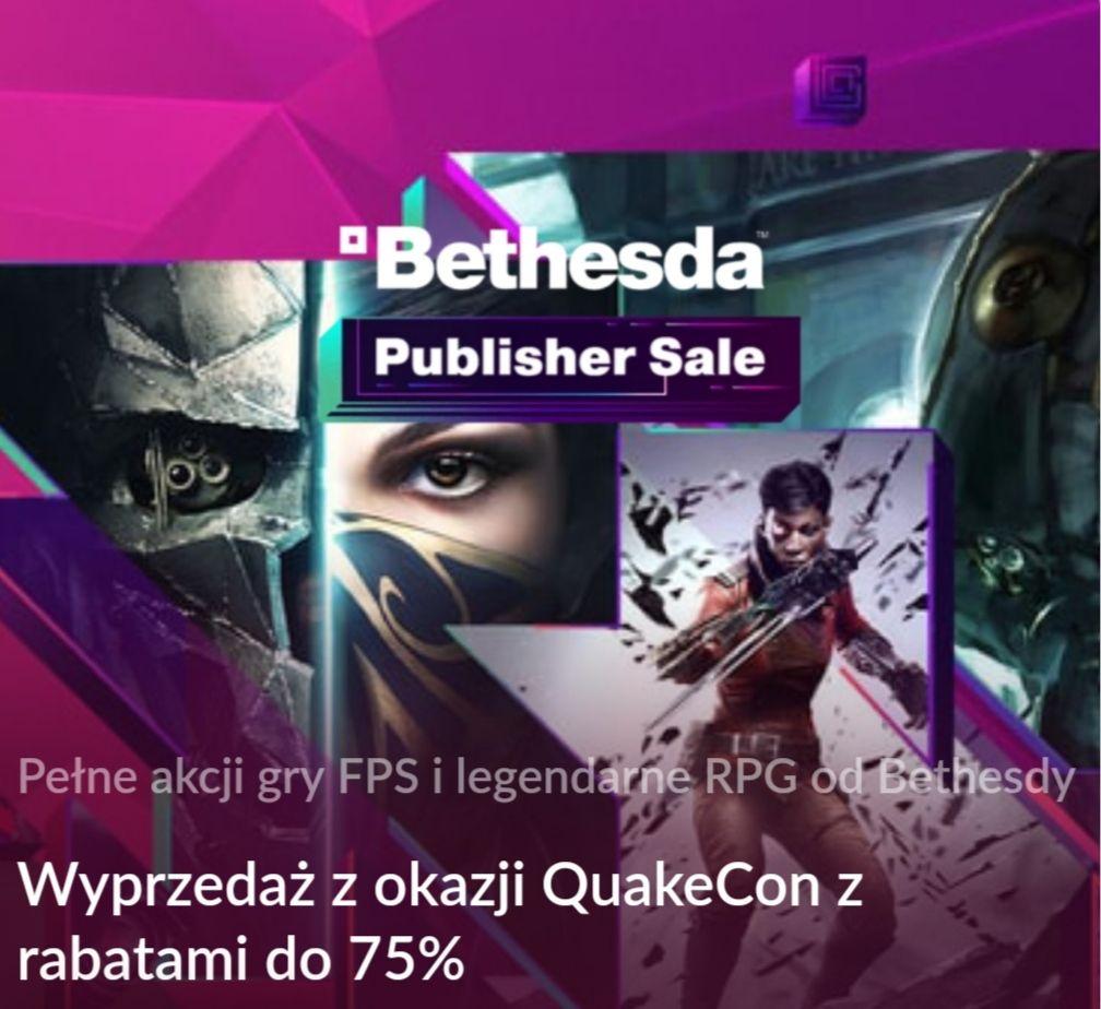 Doom, Quake, Wolfenstein, Fallout i więcej do -75% z okazji QuakeCon na GOGu