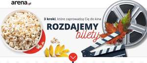 Bilet do Cinema City za rejestrację konta, zapis do newslettera i zakup produktu @ Arena
