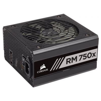 CORSAIR 750W RMx 80 PLUS Gold, modular, 135mm fan