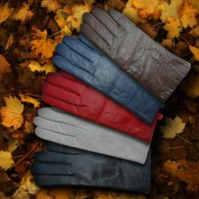Damskie rękawiczki skórzane za 19,99zł @ Aldi